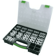 250500 | Cable glands set metric in plastic case