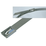 262940/360   Steel cable ties SS 316 with ball l