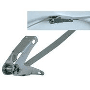 262970/1100   Steel Cable tie with ratchet 1100