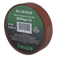 263816 | Insulating tape brown 15 mm x 10