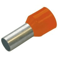 270719 | Insulated end sleeves orange 0.5 / 8