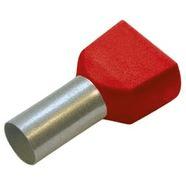 Tuljak izolirani dupli CRVENI 1.0 / 8mm (100)