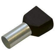 Tuljak izolirani dupli CRNI 1.5 / 8mm (100)