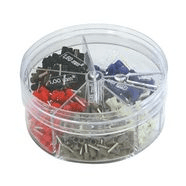 270854 | End sleeves in dispenser box colour ser