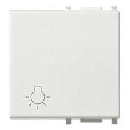 14022.L | Button 2M light symbol white