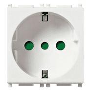 14209 | 2P+E 16A P30 outlet white