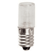 14779 | E10 10x28mm 230V 0,5W neon lamp red