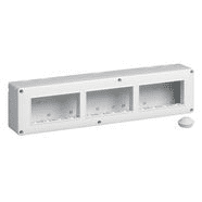 14838 | IP40 enclosure 12M 4x3 horizontal