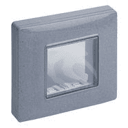 14931.14 | IP55 cover 2M +claws granite grey