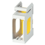 V51921   Frame 1M Eikon/Ark /Plana for DIN ra