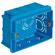 V71303 | Flush mounting box 3M light blue