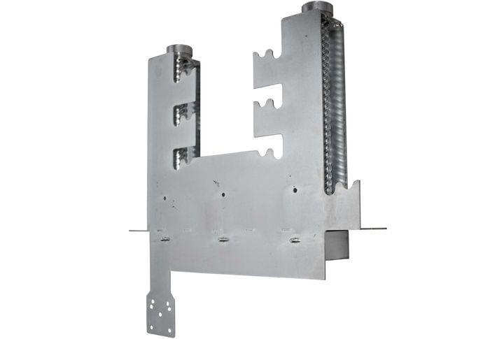 Grill mechanism double small B galvanized