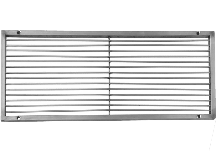 Grilling grate 70x30cm stainless steel