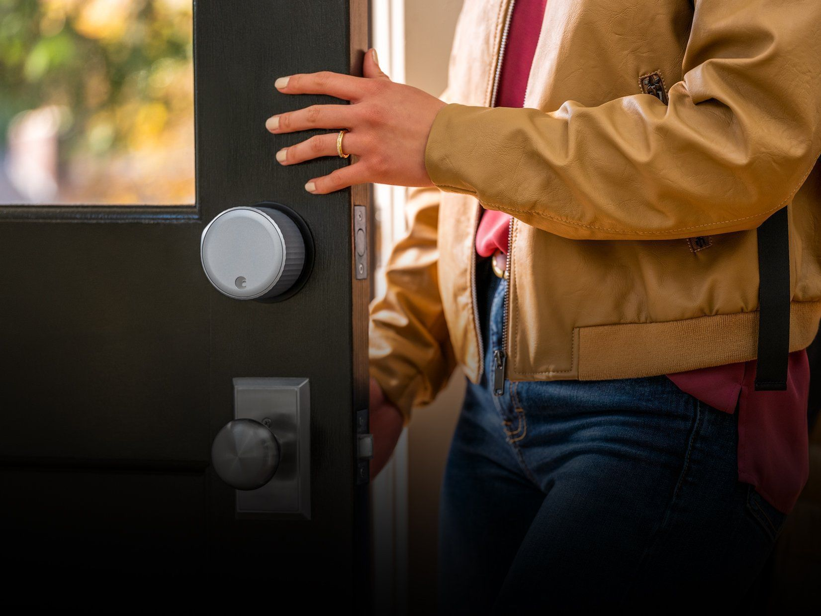 smart lock for door to purchase for your home