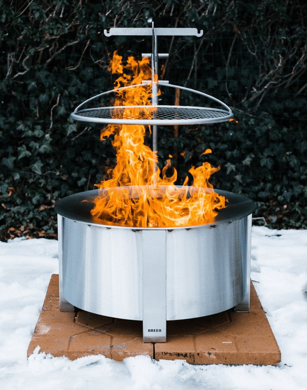 Smokeless Stainless Steel Fire Pit