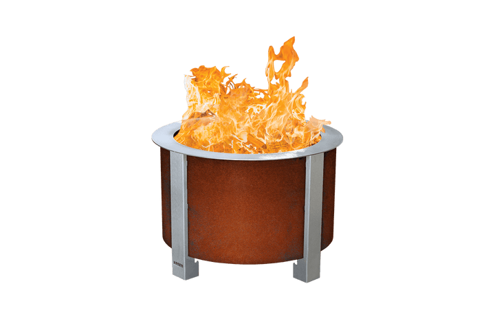 Corten X Series 19 Smokeless Fire Pit Standard Rim