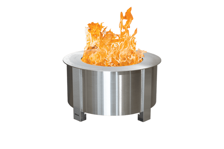 Stainless Steel X Series 24 Smokeless Fire Pit with Sear Plate