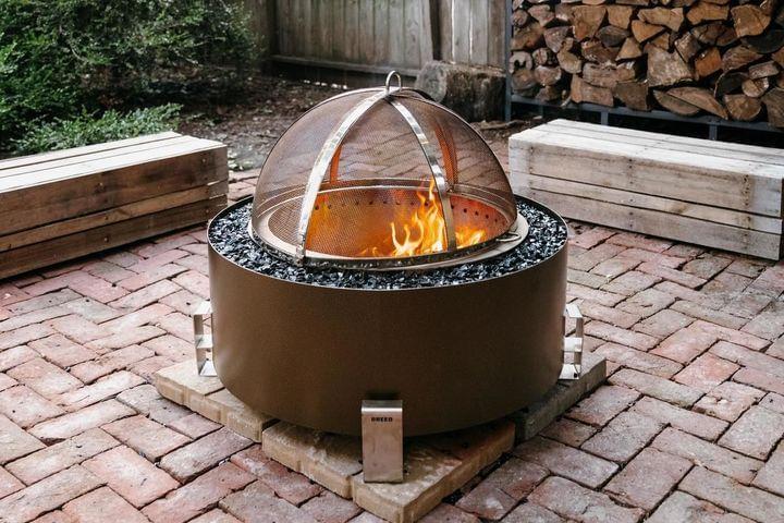 Luxeve® Fire Pit - Bronze Vein