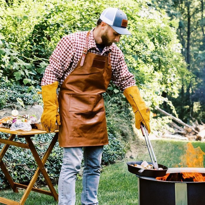 Breeo Leather Grilling Apron