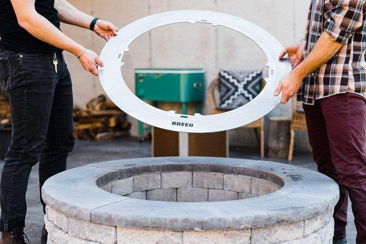 X Series 24 smokeless fire pit insert ring