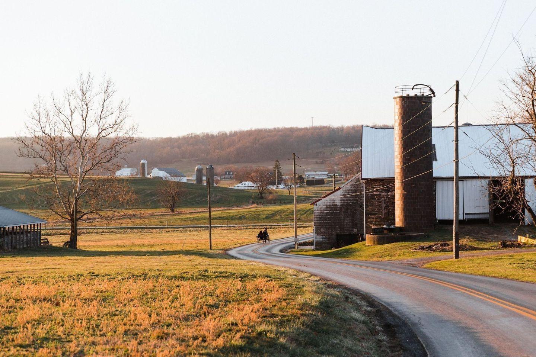 American Pennsylviania Countryside