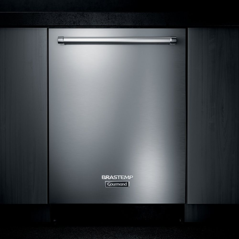Lava-Louças de embutir Brastemp Gourmand 14 Serviços Inox com Smart Sensor - 110V