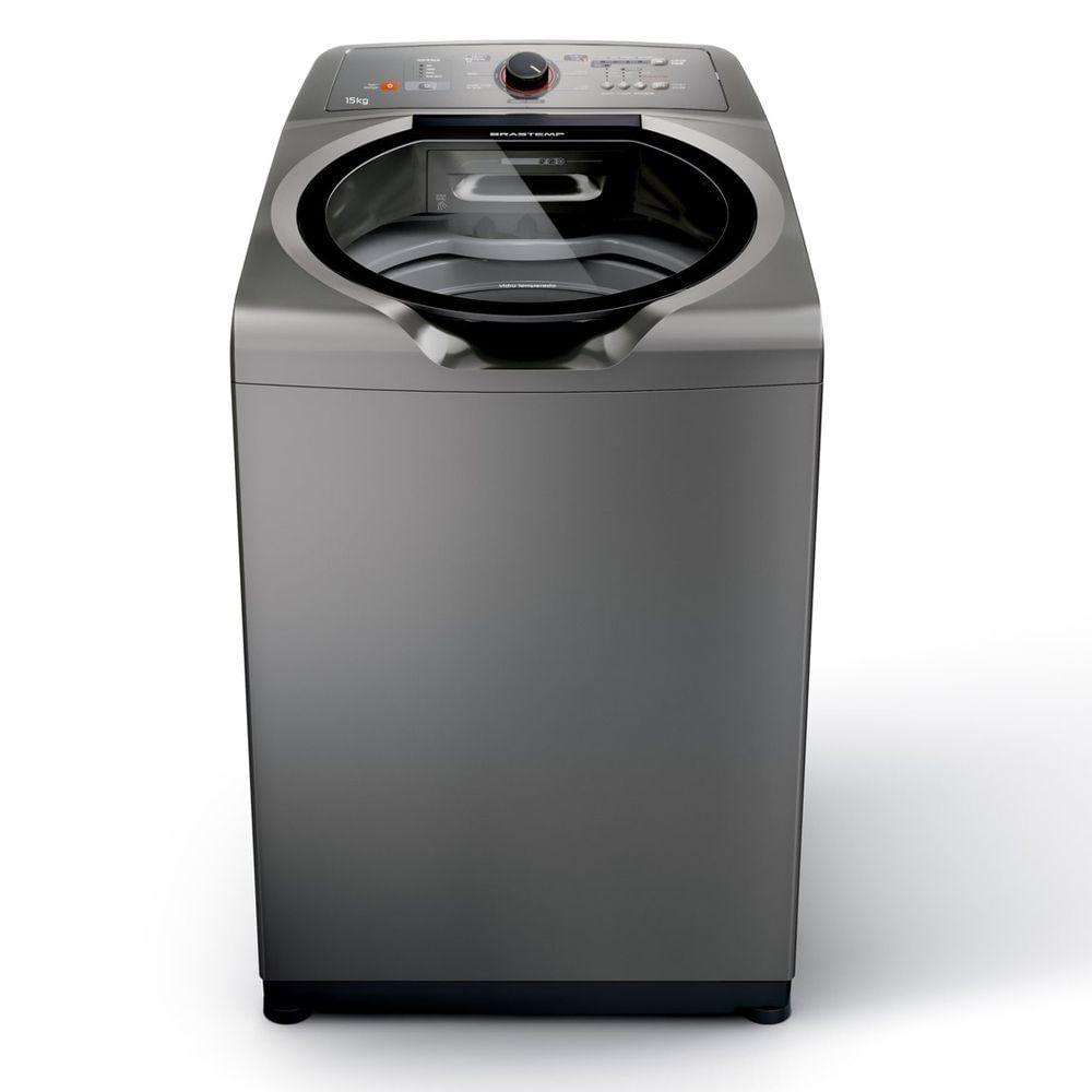 Máquina de Lavar Brastemp 15kg com Ciclo Edredom Especial e Enxágue Antialérgico