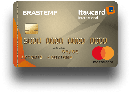 Cartão Brastemp Itaucard Mastercard