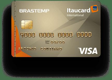 Cartão Brastemp Itaucard Visa