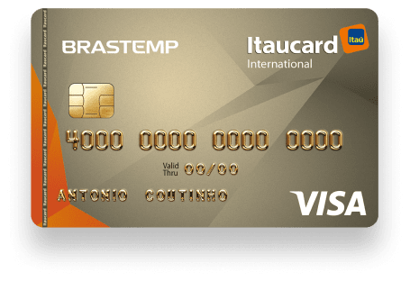 Brastemp Itaucard Visa Internacional