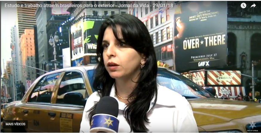 Estudo e trabalho atraem brasileiros para o exterior