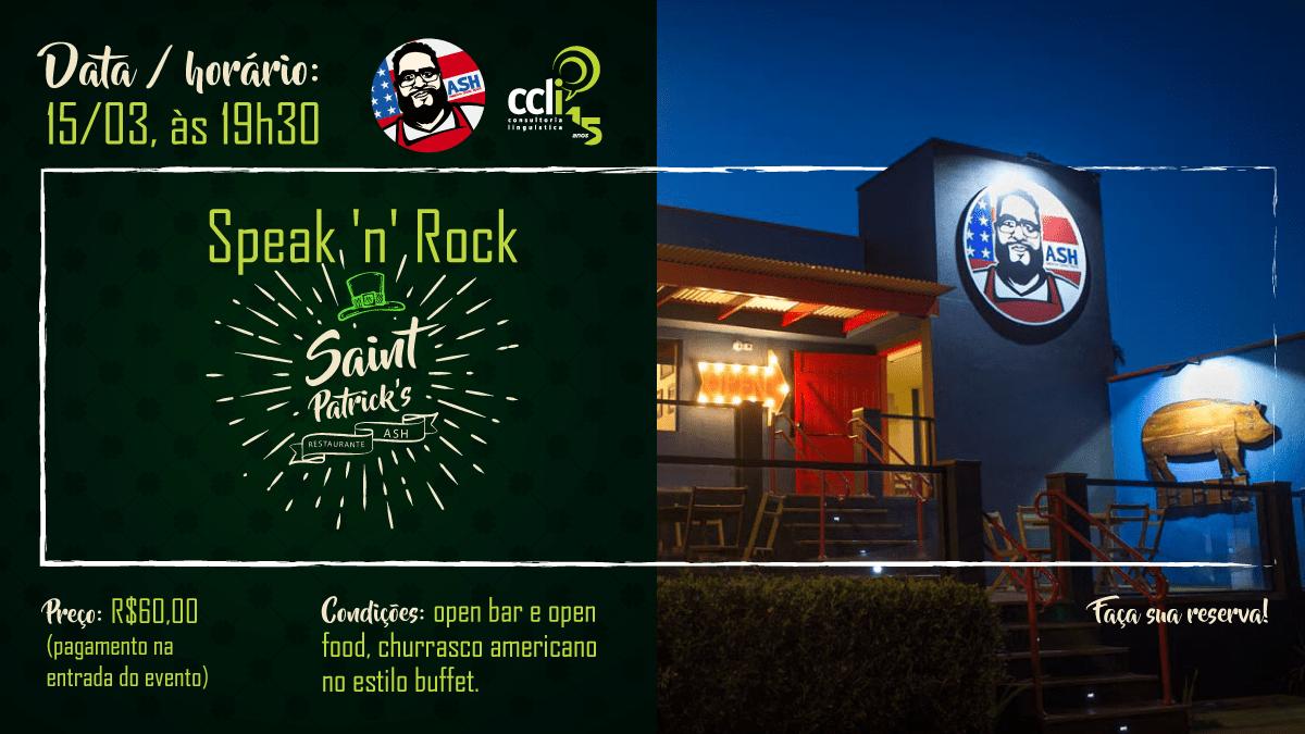Speak'n'Rock Saint Patrick