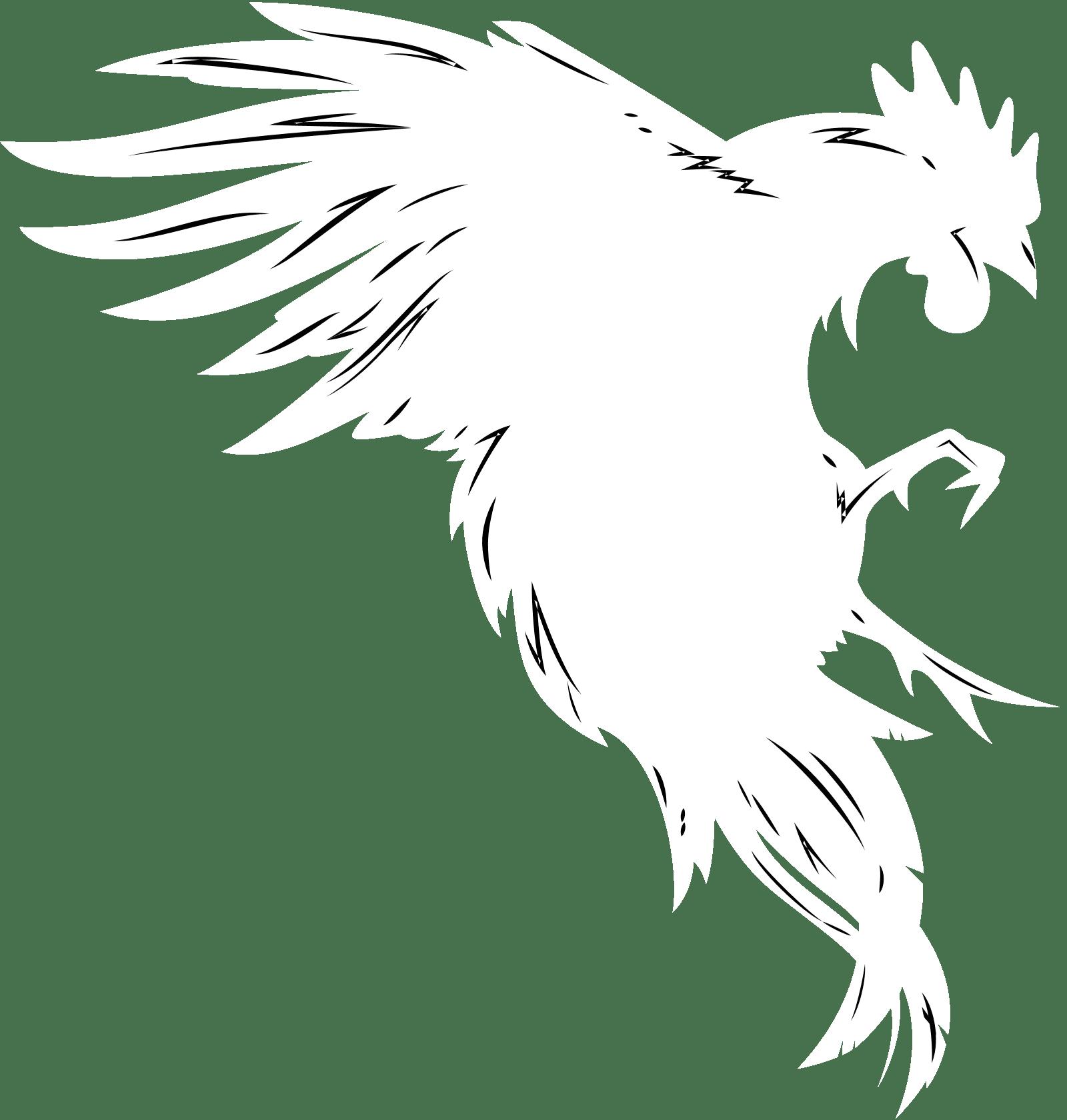 Sleepless Logo - Grey Rooster
