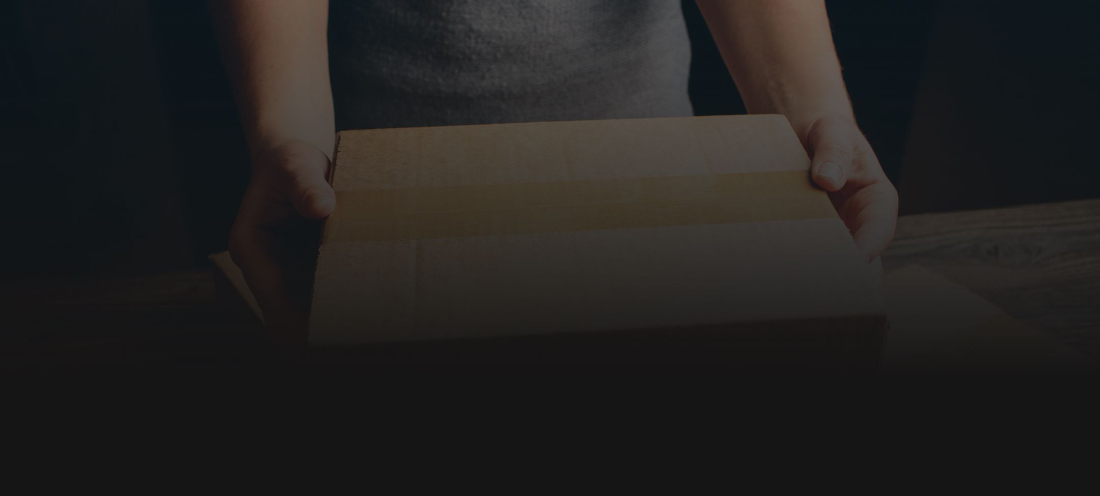 Amazon Package Banner