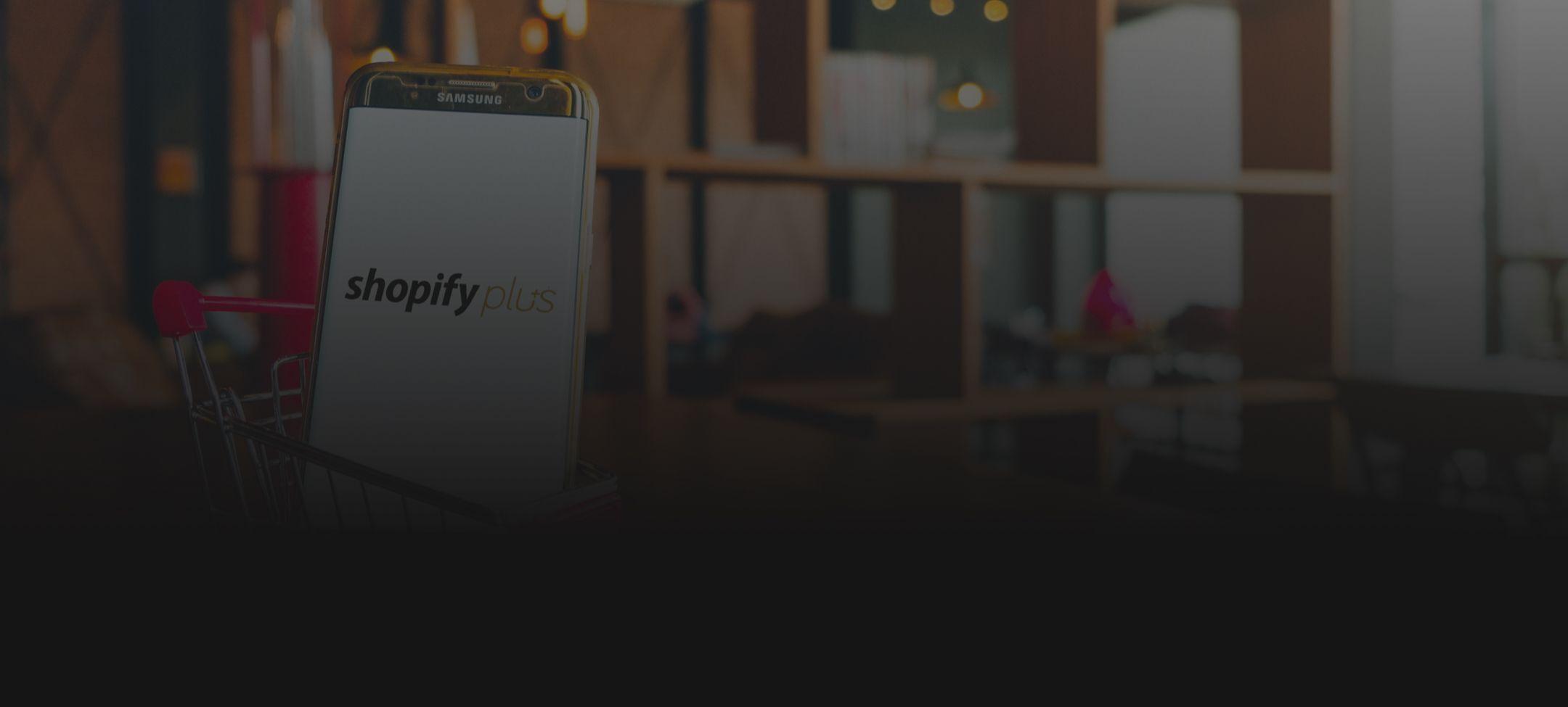 Shopify Plus Banner