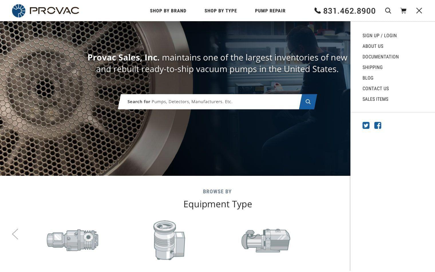 Provac Search Feature