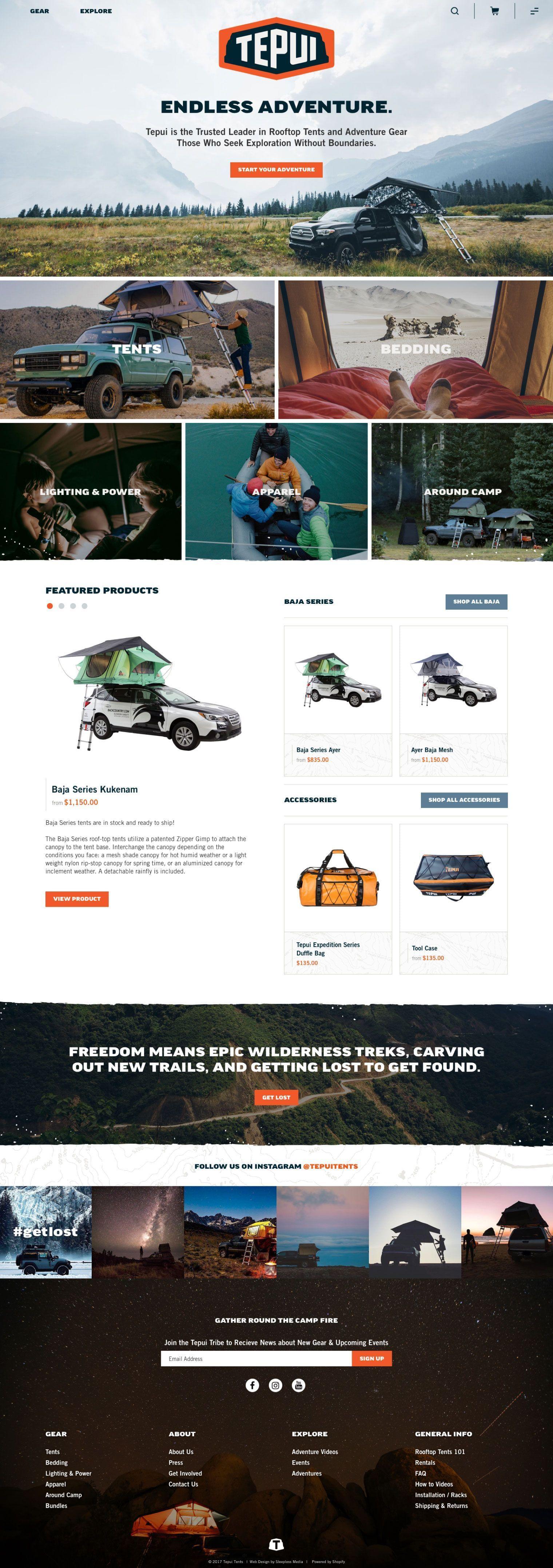 Tepui Homepage