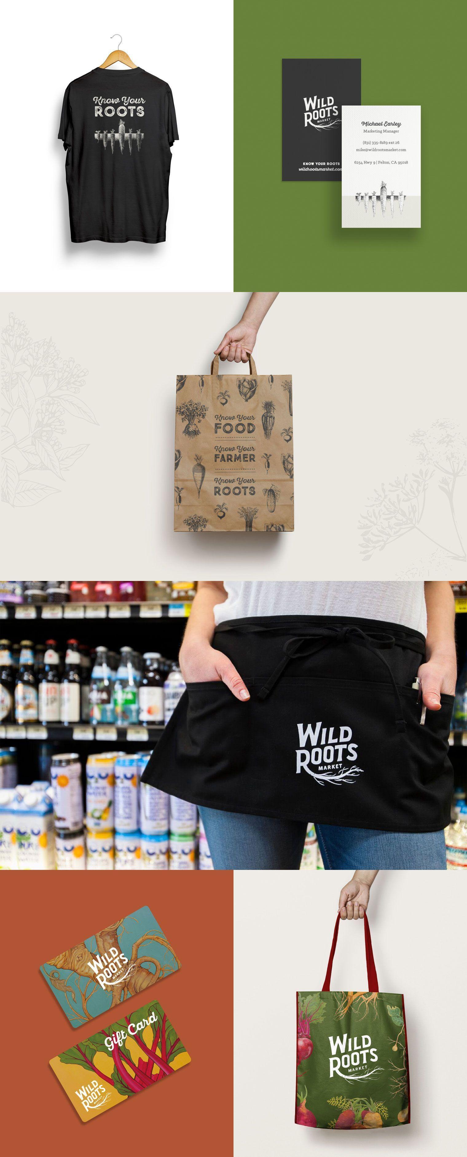 Wild Roots Branding