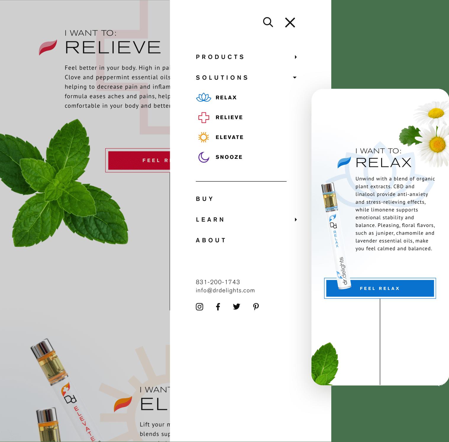 Dr Delights - Mobile
