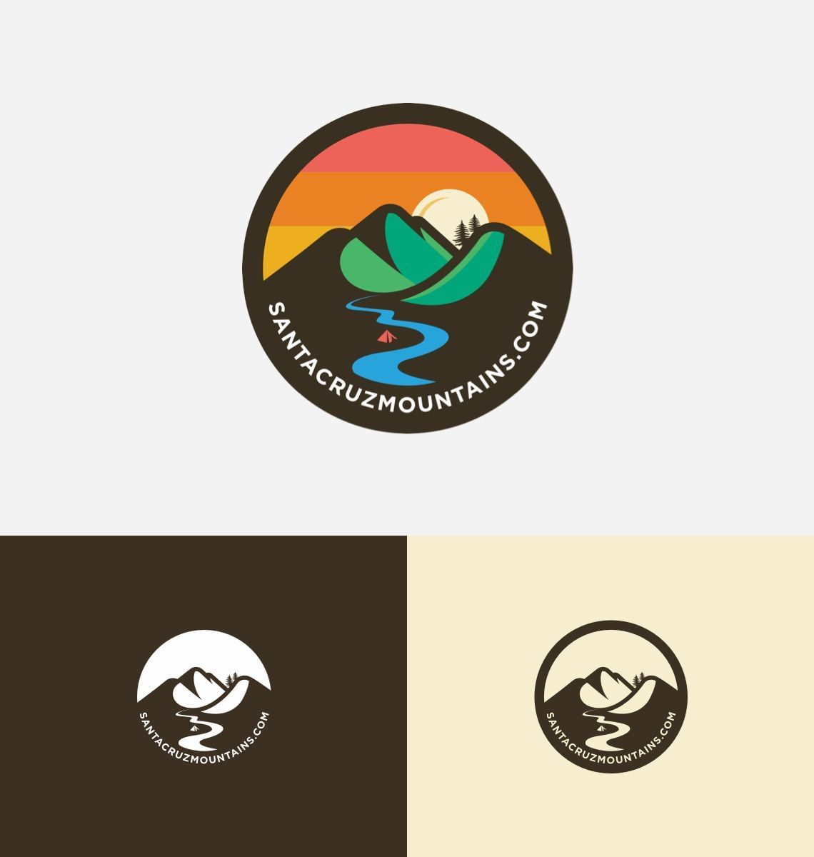 Santa Cruz Mountains - Logo
