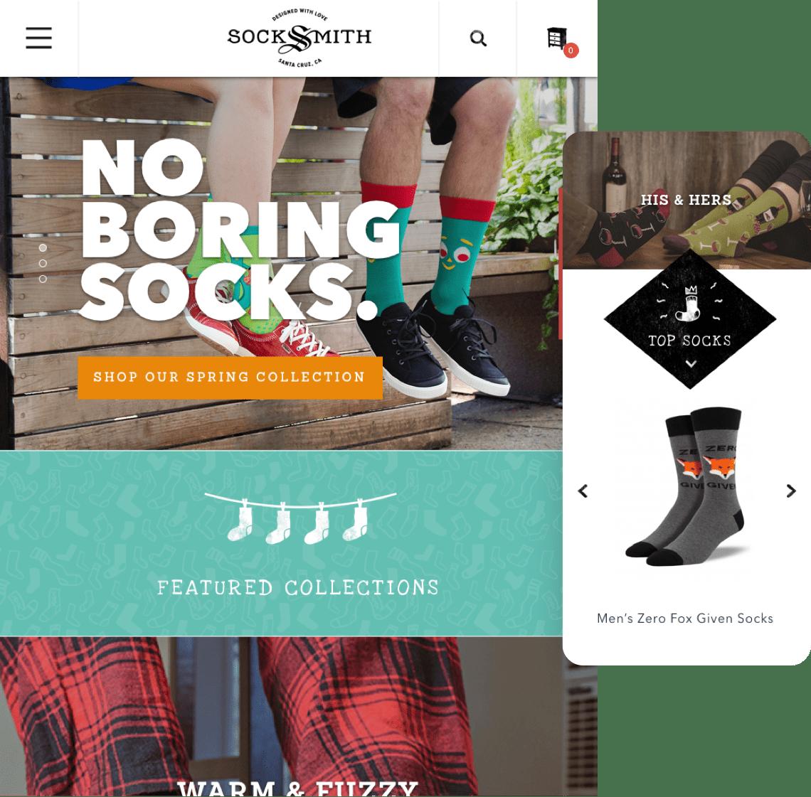 Socksmith - Mobile