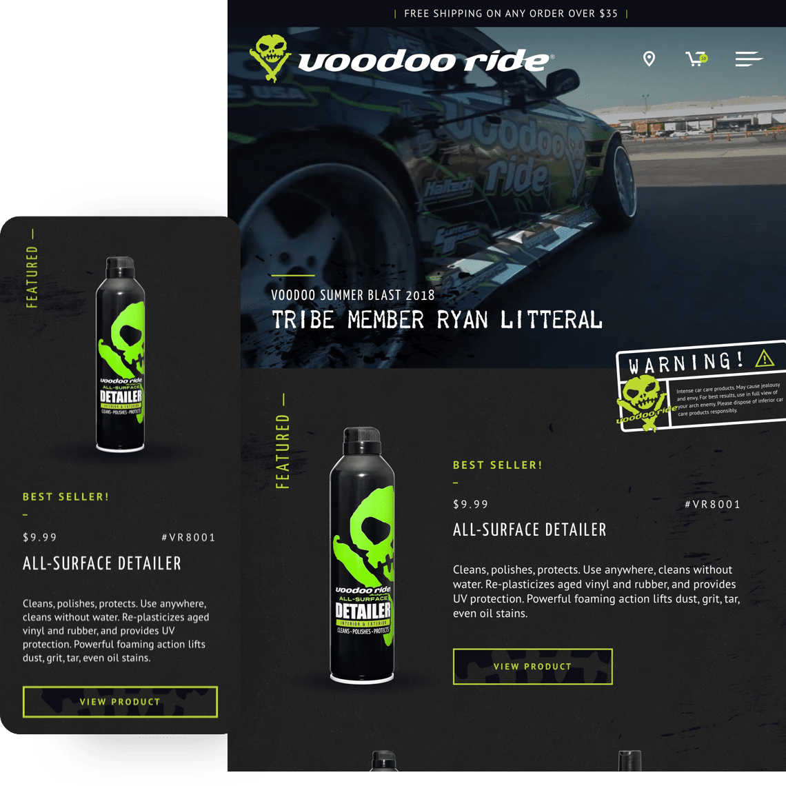 Voodoo Ride - Mobile