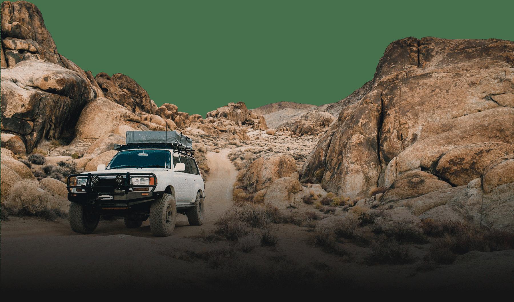 Tepui Desert Car