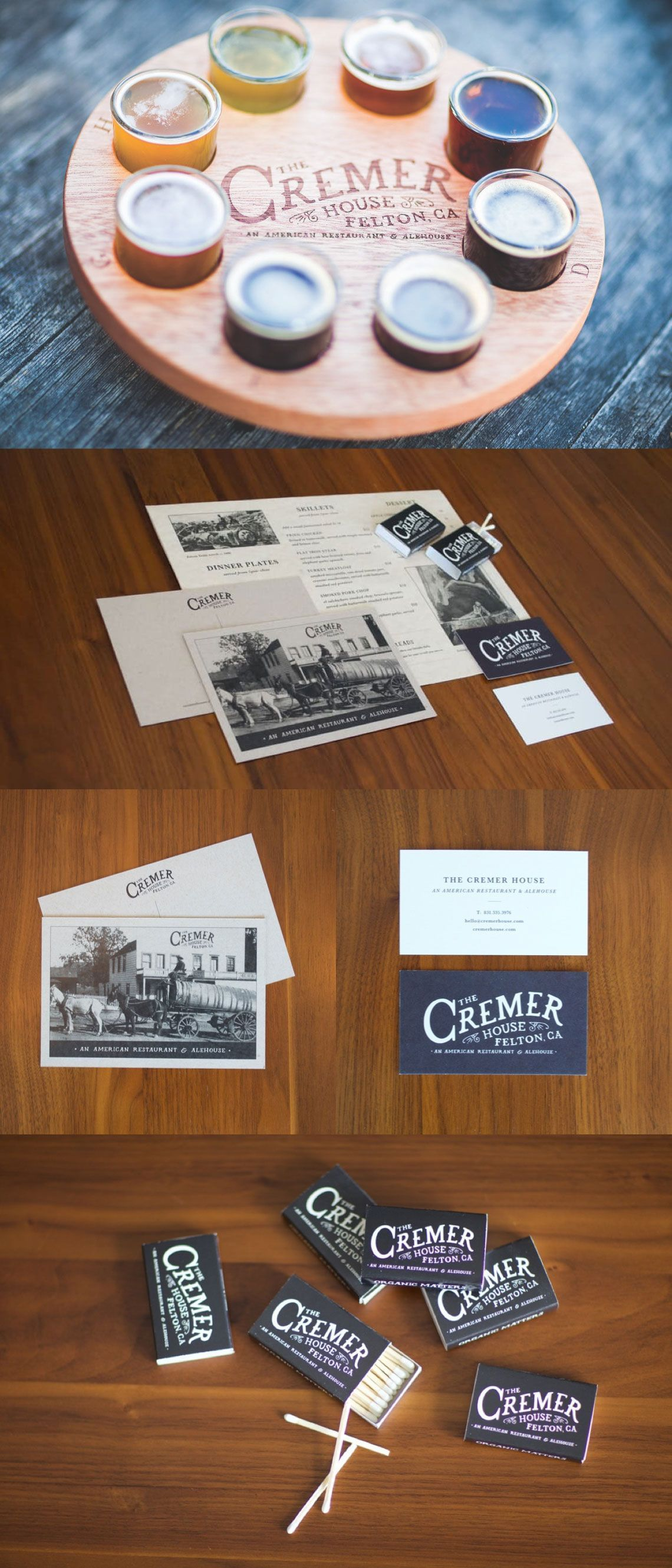 Cremer House Branding and Print