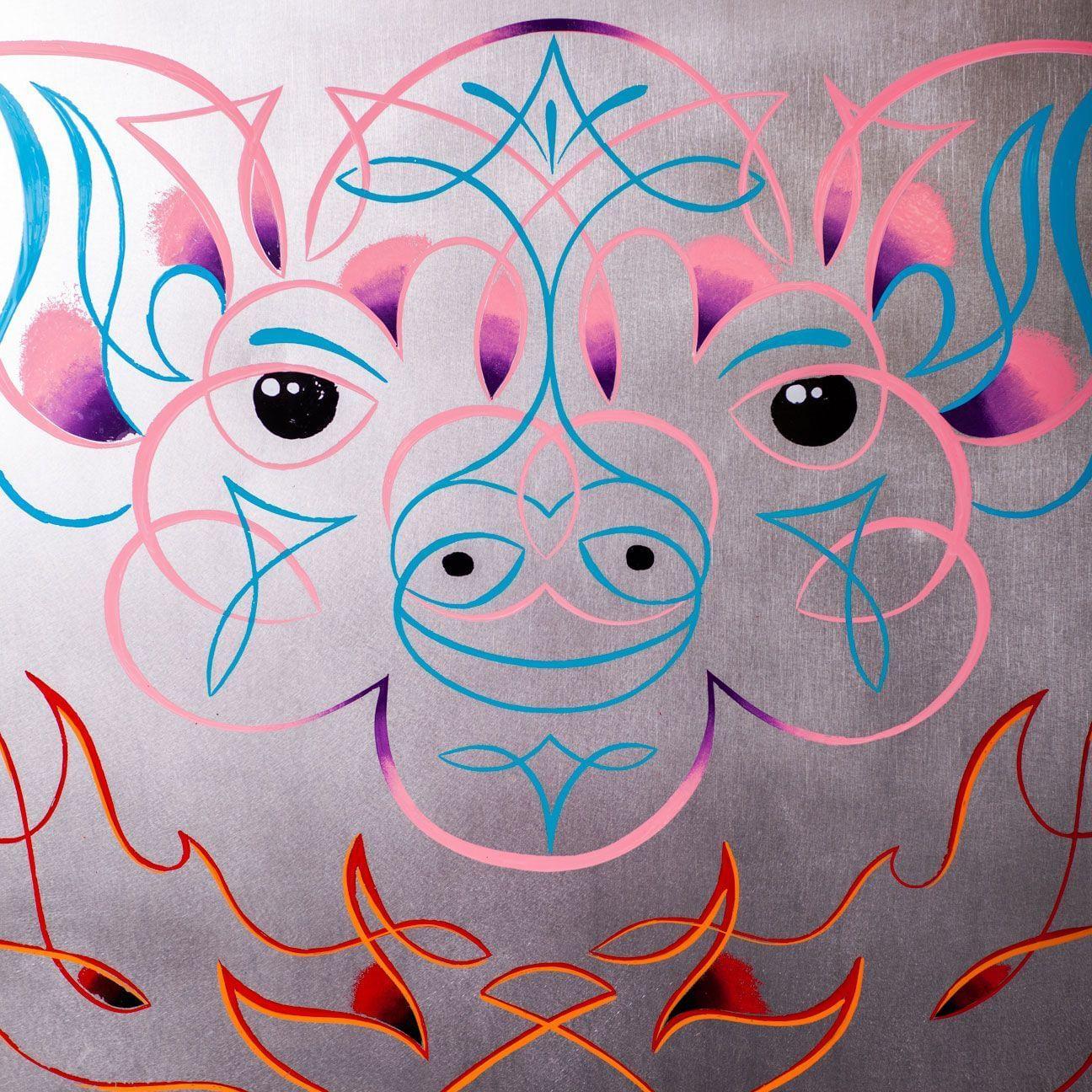 el Salchichero Painted Pig