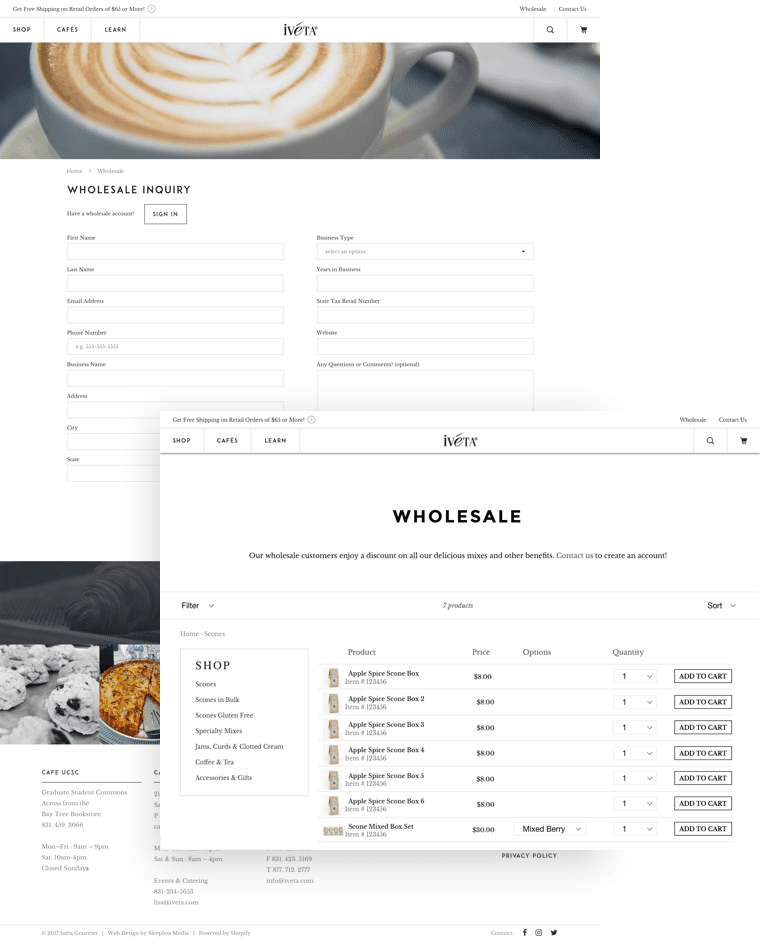 Iveta Wholesale