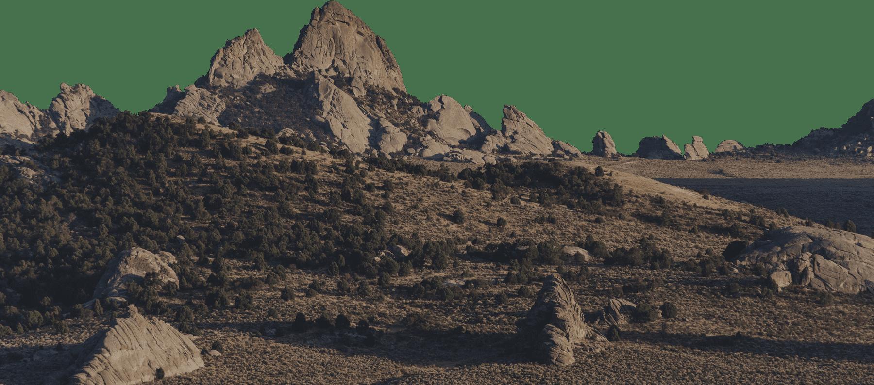Tepui Desert Rocks