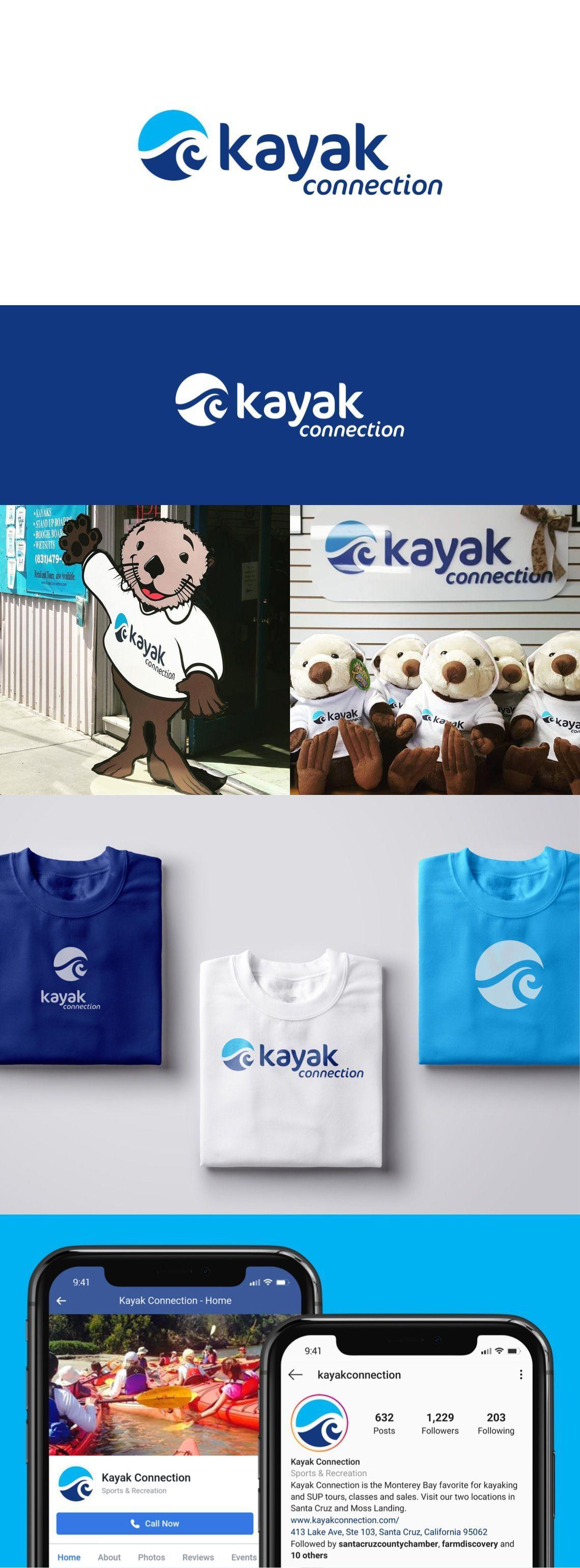 Kayak Connection - Branding