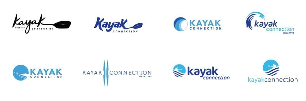 Kayak Connection Logo Exploration
