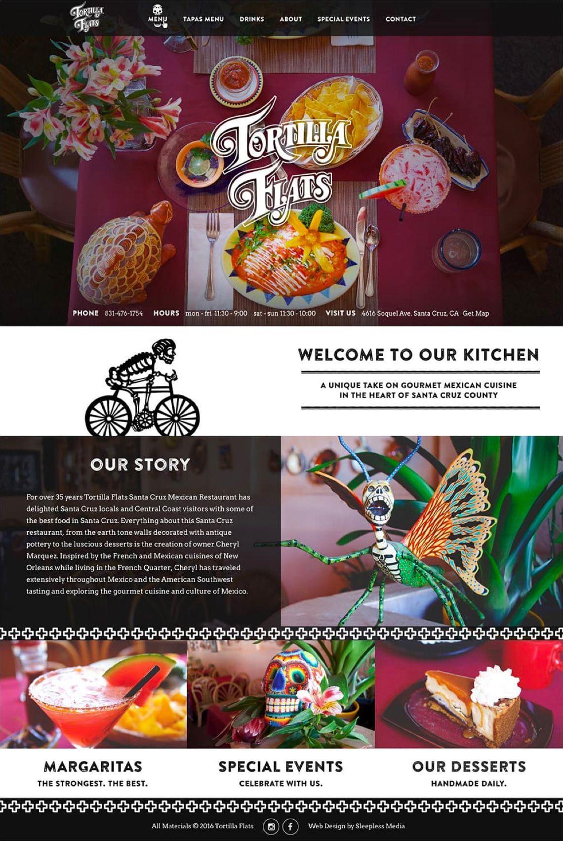 Tortilla Flats - Homepage